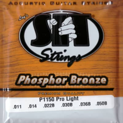 Sit P1150   Corde Per Chitarra Acustica   Phosphor Bronze