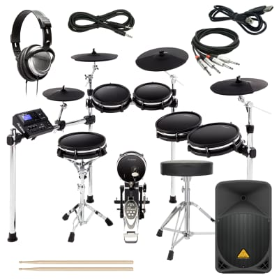 Alesis DM10 MKII Pro Kit COMPLETE DRUM BUNDLE