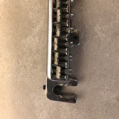 Vintage Badass Style Wraparound Guitar Bridge MIJ for sale