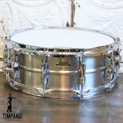 Yamaha Recording Custom Stainless Steel Snare Drum 14X5.5in