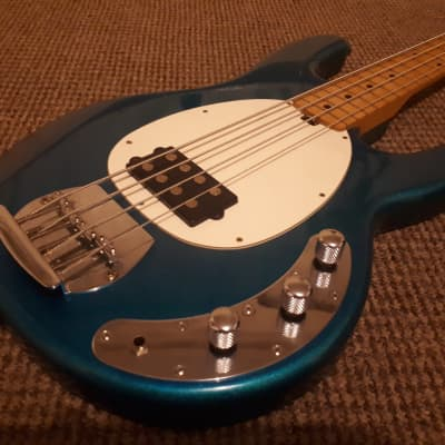 OLP Musicman Stingray 00's Glitter Blue for sale
