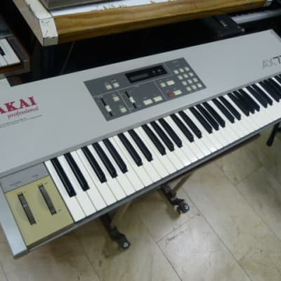 Akai AX73 analog polyphonic synthesizer