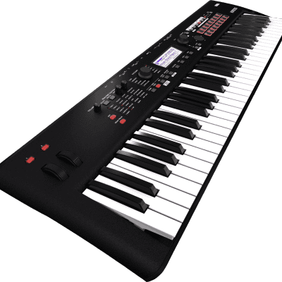 Korg KROSS 2 61-MB 61-Key Synthesizer Workstation 2019 Super Matte Black