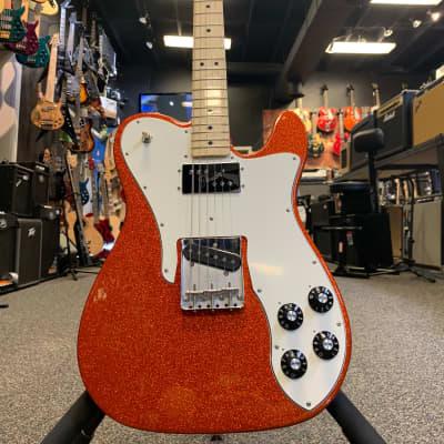 Fender '72 Telecaster Custom Limited Edition Burnt Orange Sparkle for sale