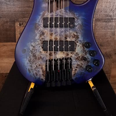Ibanez Bass Workshop EHB1505 Pacific Blue Burst Flat, NEW IN BOX, Free Ship 3807 for sale