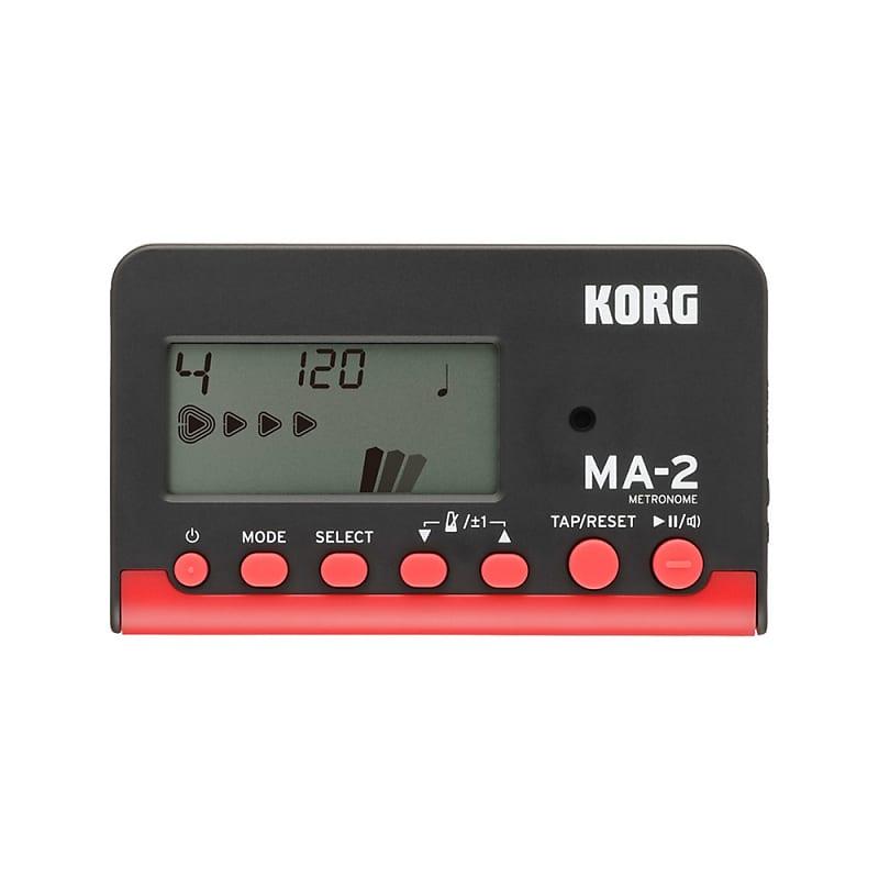 Korg MA-2 Digital Metronome Red