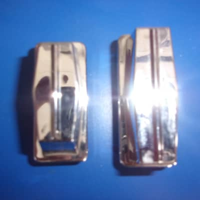 Lot of  4 GP Percussion Chrome Lug with Spring  Choose Bass / Tom Drum 1 Hole OR  Snare Drum 2 Hole
