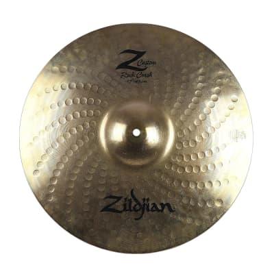 "Zildjian 17"" Z Custom Rock Crash Cymbal 2001 - 2009"