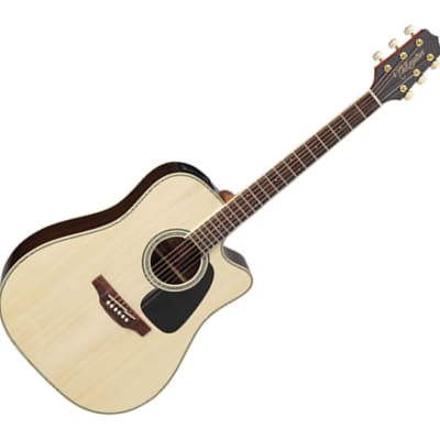 Takamine GD51CENAT Dreadnought Cutaway Acoustic/Electric Guitar - Natural for sale