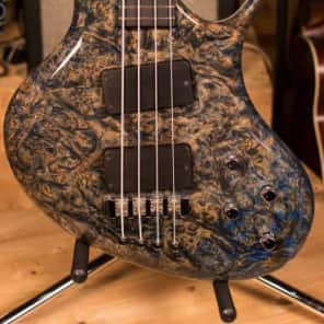 Ritter R8 Singlecut Bass Guitar Solid Maple Burl for sale