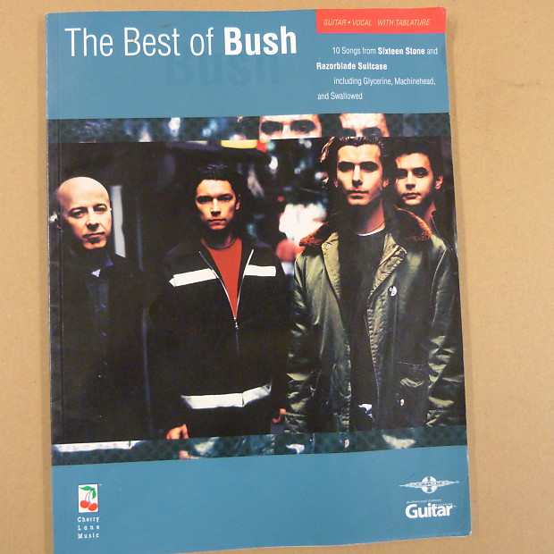 songbook THE BEST OF BUSH , 1998, TAB | LEWTHWAITEmusic