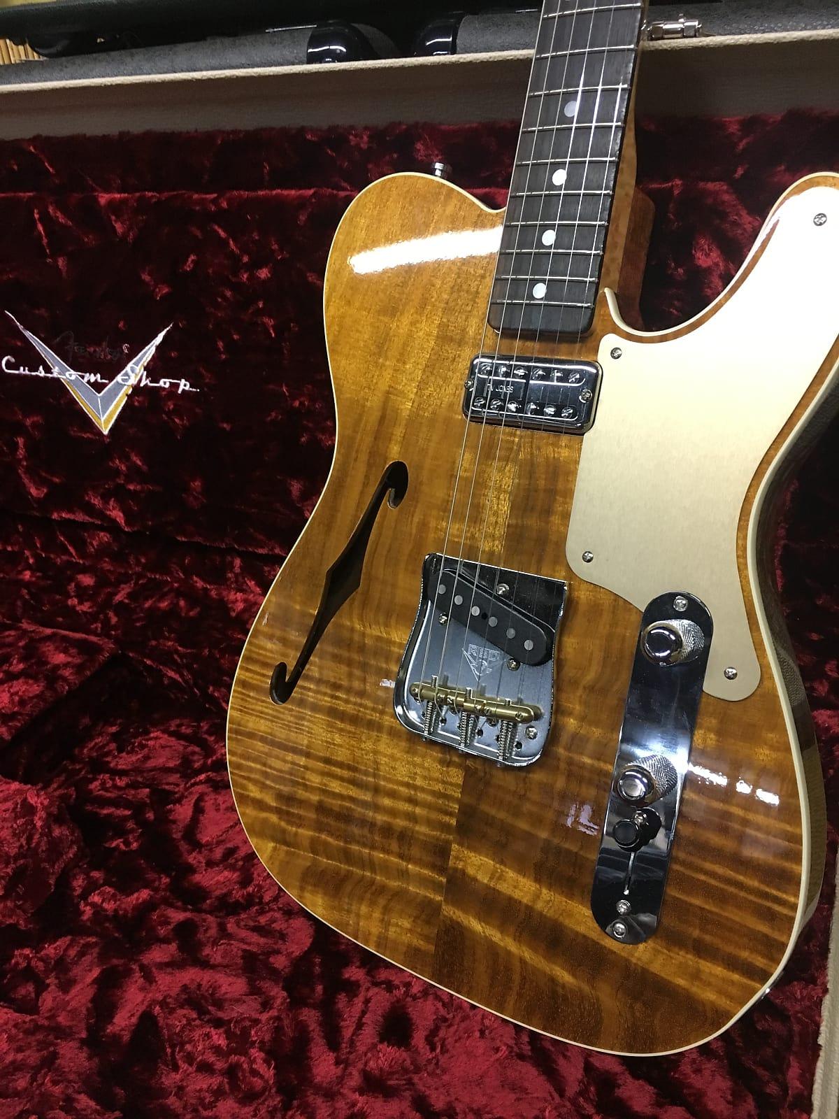 Fender Custom Shop Artisan Telecaster  2017 Natural