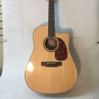 Crossroads Model C-D-80 CS N Acoustic Guitar-Natural Finish-NEW-Shop Setup Included
