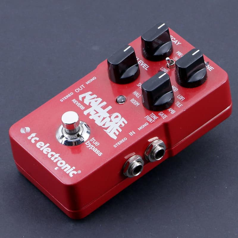 TC Electronic Hall Of Fame Reverb Guitar Effects Pedal P-06996 image
