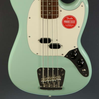 DEMO Squier Classic Vibe '60s Mustang Bass - Surf Green (694)