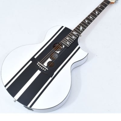 Schecter DJ Ashba Signature Acoustic Electric Guitar Satin White B-Stock 3624 for sale
