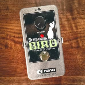 Electro-Harmonix Screaming Bird Treble Booster Pedal