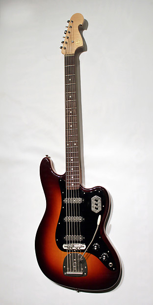 ayers guitar co custom vi bass vi 2014 sunburst with mono reverb. Black Bedroom Furniture Sets. Home Design Ideas