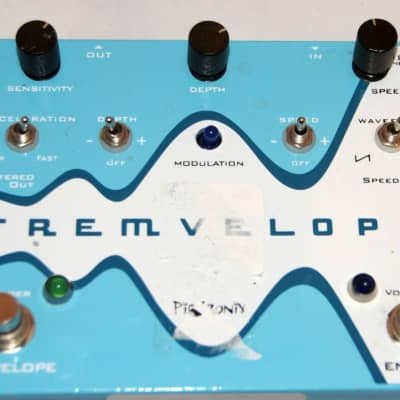 Pigtronix TREMVELOPE Envelope Modulated Tremolo Pedal x1561 (USED)