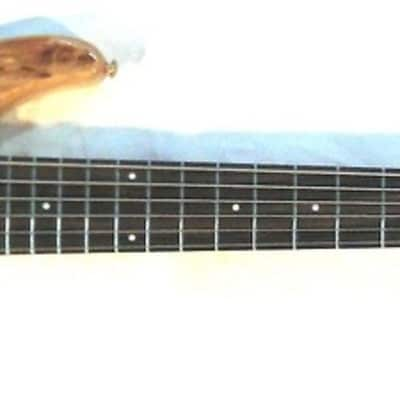 New Dillion 6 string Natural wood finish w/ gold hardware Made in USA w/ OHSC for sale