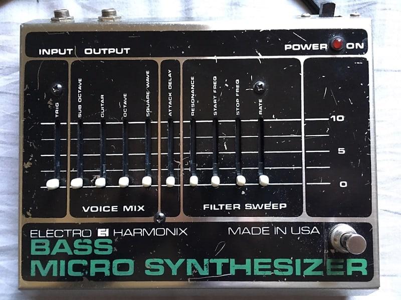 electro harmonix bass micro synthesizer 1980 wapaii reverb. Black Bedroom Furniture Sets. Home Design Ideas