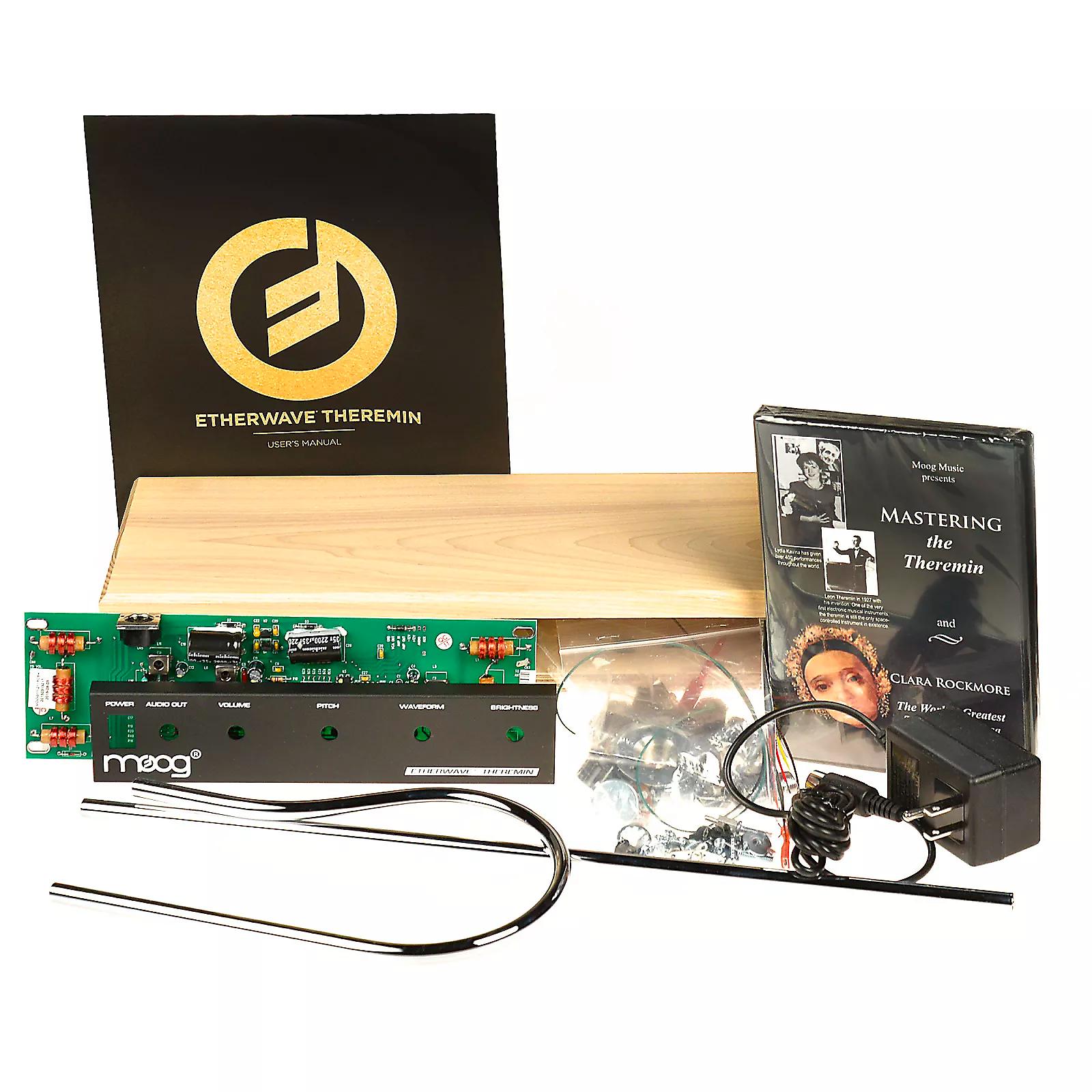 moog etherwave build your own theremin kit reverb. Black Bedroom Furniture Sets. Home Design Ideas