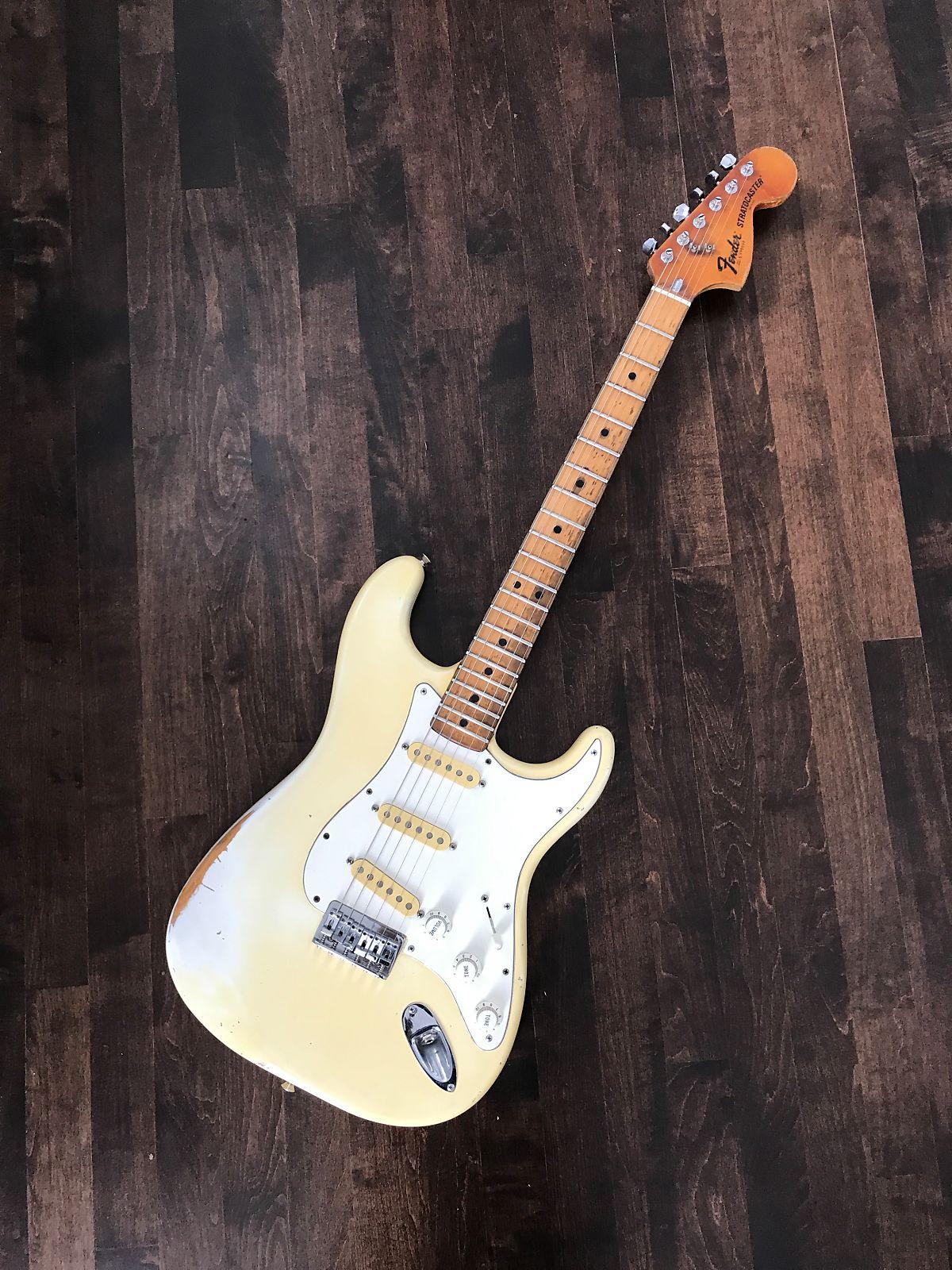 Fender  Stratocaster  1979 Olympic White with Orignal Hardshell Case