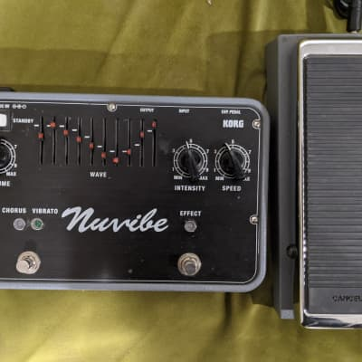 Korg Nuvibe Vibrato Chorus Effector With Foot Controller for sale
