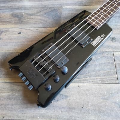 1980's Hohner B2 Headless Paddle Bass Guitar w/Steinberger System for sale
