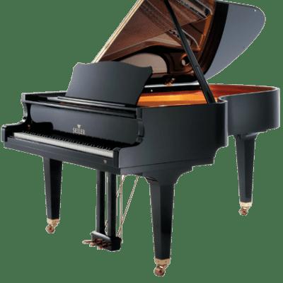Seiler ED-186 Grand Piano Polish Ebony