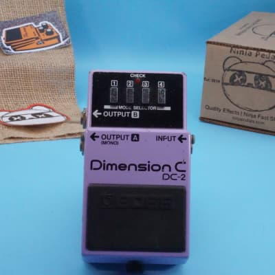 Boss DC-2 Dimension C | Vintage 1986 (Made in Japan) Blue Label | Fast Shipping!