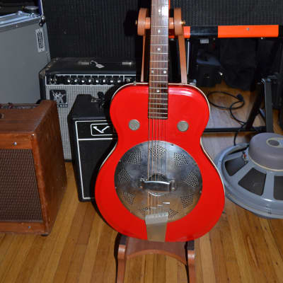 Supro Resonater 1960s red/white for sale