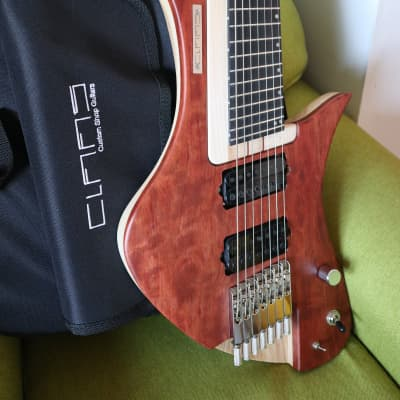 Claas Moby Dick 7 strings headless multiscale Custom Shop for sale