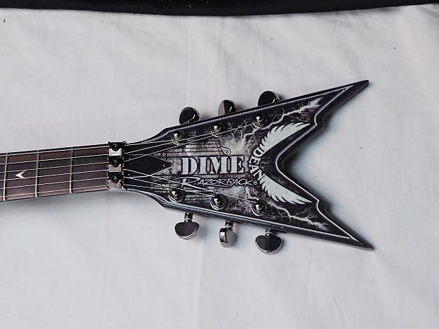 Dean Razorback Cemetery Gates Electric Guitar New W Hard