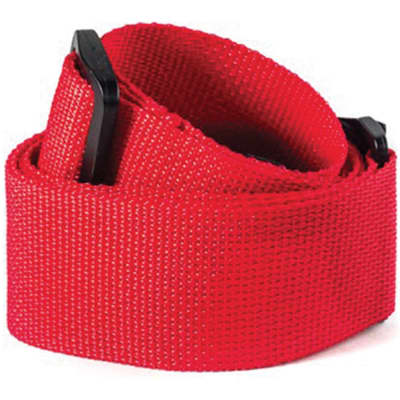 Dunlop D07 01 Rd Dunlop Poly Strap Red for sale