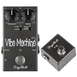 DryBell V-2 Vibe Machine Uni-Vibe Pedal & F-1L Footswitch for sale