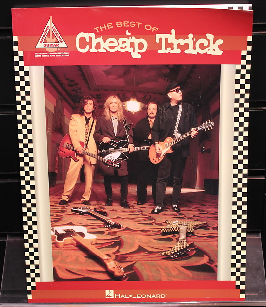 Best Of Cheap Trick Guitar Recorded Versions Tab Songbook Reverb