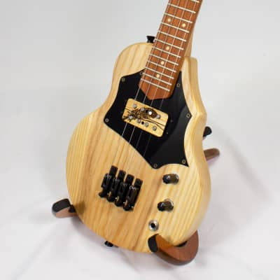 Sparrow Ash Tenor Cutaway HB Steel String Electric Solid Body Ukulele (USA Made!) for sale