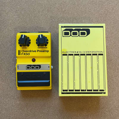 DOD Overdrive Preamp FX50 (Made in USA)