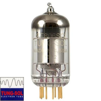 New Gain Tested Tung-Sol Reissue EF806S / EF86 / 6267 Gold Pins Vacuum Tube