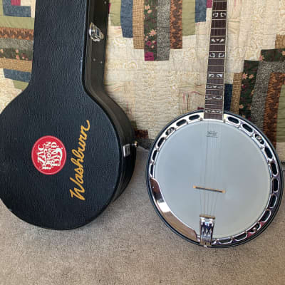 Washburn B16K Americana Series 5-String Banjo with case for sale