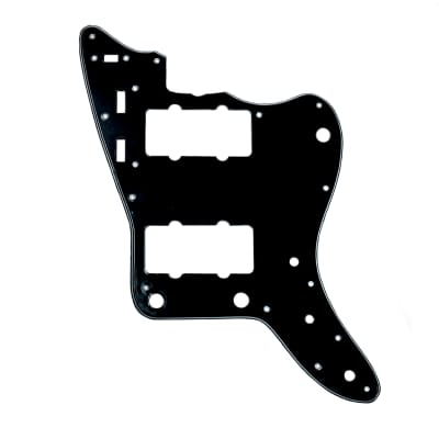 Allparts Jazzmaster Pickguard Black/White/Black for sale