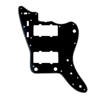 Allparts Jazzmaster Pickguard Black/White/Black for sale