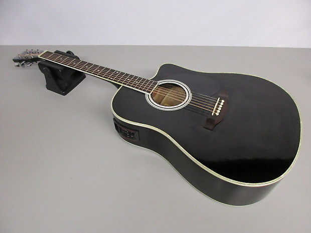 esteban alc 200 acoustic electric guitar reverb. Black Bedroom Furniture Sets. Home Design Ideas