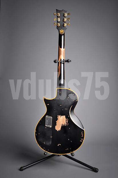 esp iron cross james hetfield signature series guitar 2009 reverb. Black Bedroom Furniture Sets. Home Design Ideas