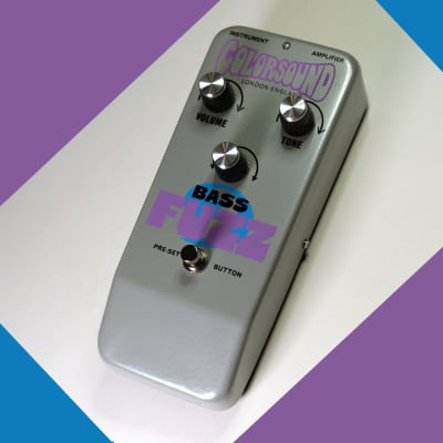 Sola Sound Colorsound Bass Fuzz direct from Sola Sound London for sale