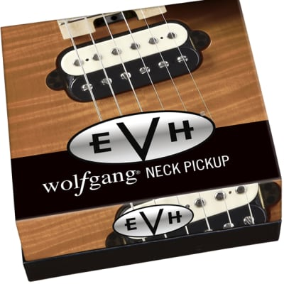 EVH Wolfgang Neck Pickup - Black and White for sale