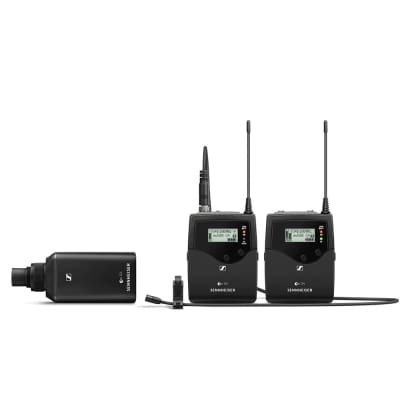 Sennheiser ew 500 Film G4 Wireless Lavalier Microphone Lav Combo System Kit AW+