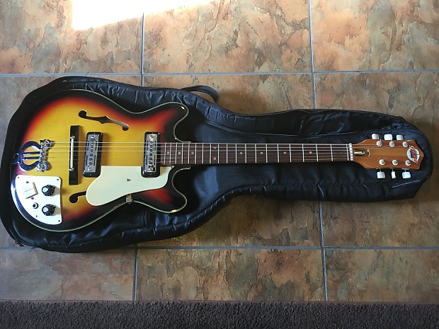 teisco del ray ep7 vintage electric guitar rare made in japan reverb. Black Bedroom Furniture Sets. Home Design Ideas