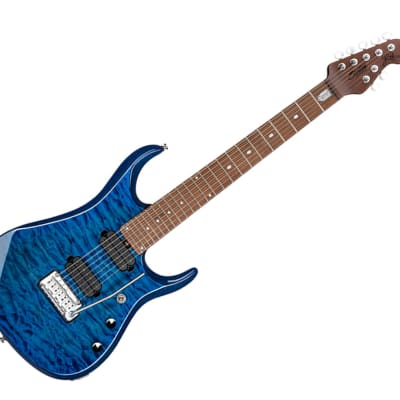 Sterling by Music Man JP157-NBL JP15 Signature in Neptune Blue, 7-String - Used for sale